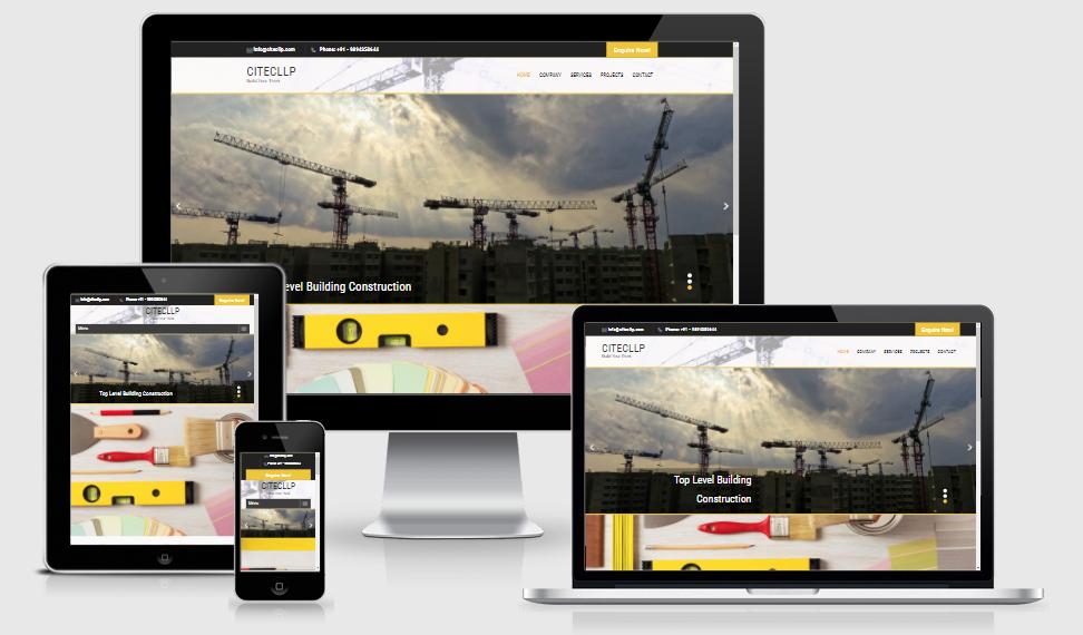 Citecllp - Construction Website - GCC