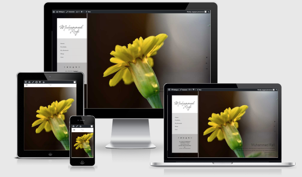 Rafisignus - Portfolio & Online Photo Sale Website